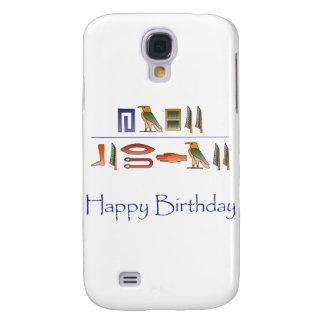Alles- Gute zum Geburtstagägypter-Hieroglyphen Galaxy S4 Hülle