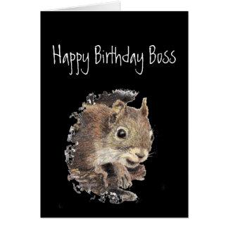 Alles- Gute zum Geburtstagchef, bis nur gesundes Karte