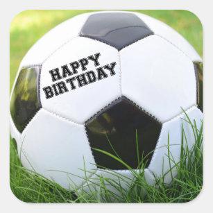 Alles Gute Zum Geburtstag Des Fussballs Aufkleber Zazzle At