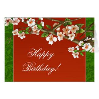 alles Gute zum Geburtstaggrußkarte Karte