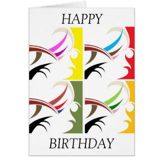 Alles Gute zum Geburtstagkarte nach Maß Karte