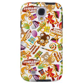 Alles- Gute zum Geburtstagmuster-Illustration Galaxy S4 Hülle