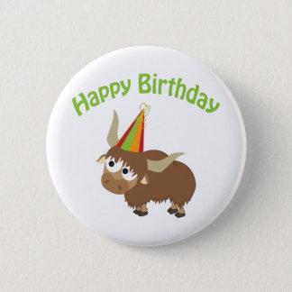 Alles- Gute zum Geburtstagyak Runder Button 5,1 Cm
