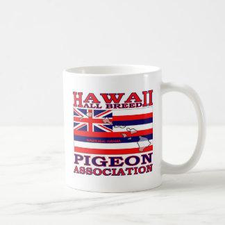 Alles Hawaii züchten Taube Assoc. Vereinschale Kaffeetasse