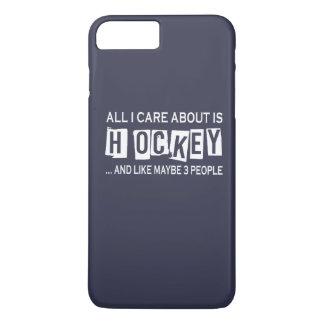 Alles i-Sorgfalt ist ungefähr Hockey iPhone 8 Plus/7 Plus Hülle