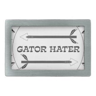 Alligator-Hasser-EST Rechteckige Gürtelschnallen