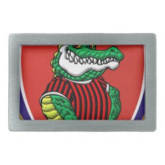 Alligator Rechteckige Gürtelschnallen
