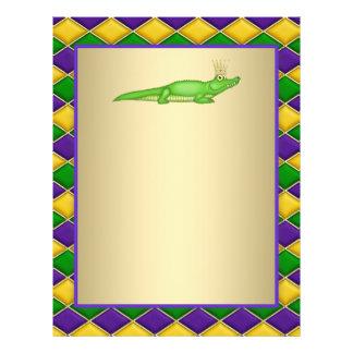 Alligatorkarneval Flyer