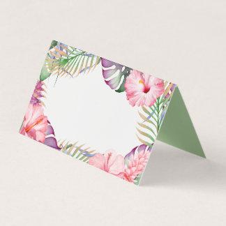 Aloha Watercolor Tropical Floral Luau