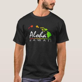 ALOHA Hawaii (beunruhigter Entwurf) T-Shirt