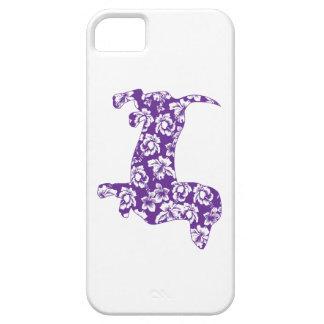 Aloha lila Dackeln iPhone 5 Hülle
