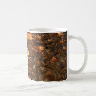 Aloin unter dem Mikroskop Kaffeetasse