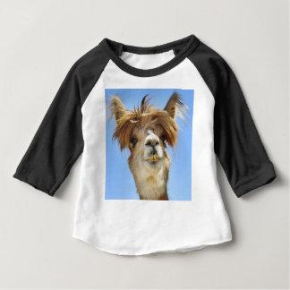 Alpaka mit dem verrückten Haar Baby T-shirt