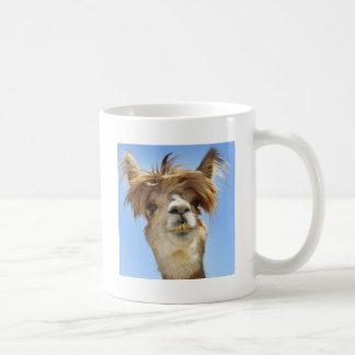 Alpaka mit dem verrückten Haar Kaffeetasse