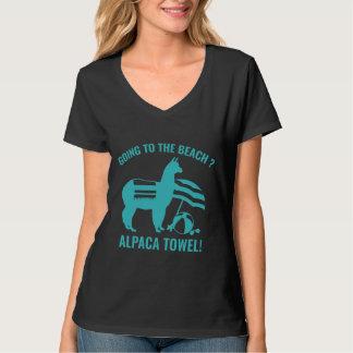 Alpaka-Tuch T-Shirt