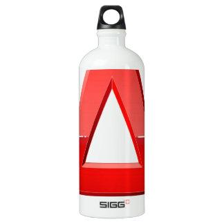 Alphabet-letztere eine englische Art Aluminiumwasserflasche