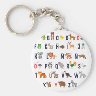 Alphabet-Tiere - superniedliches! Schlüsselanhänger