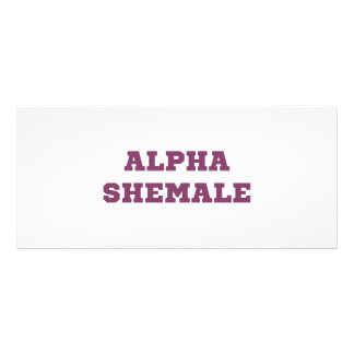 AlphaShemale Werbekarte
