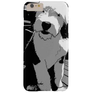 Alte englische Schäferhund-Skizze Barely There iPhone 6 Plus Hülle