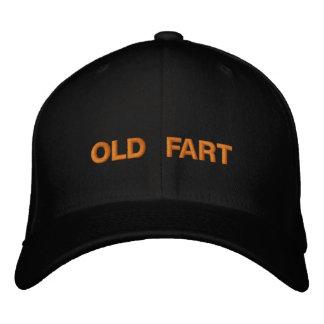 Alte Furz gestickter Hut Bestickte Baseballmütze