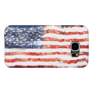 Alte gefaltete amerikanische Flagge