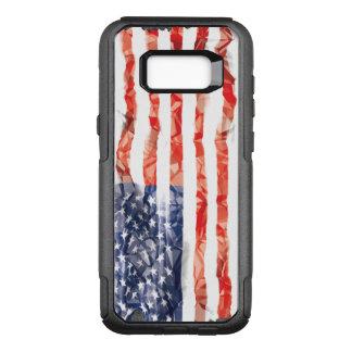 Alte gefaltete amerikanische Flagge OtterBox Commuter Samsung Galaxy S8+ Hülle