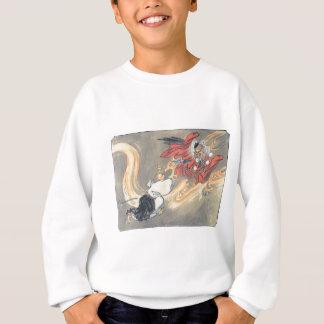 Alte Japaner Tengu Dämon-Malerei Sweatshirt