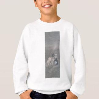 Alte japanische Kunst, Geist mit Kopf in seinem Sweatshirt