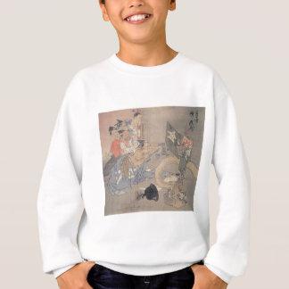 "Alte ""japanischer Dämon-"" Malerei Sweatshirt"