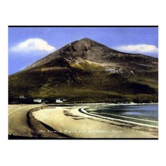 Alte Postkarte - Achill Insel, Co Mayo, Irland