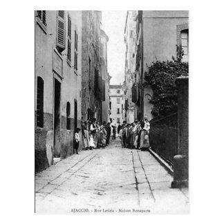 Alte Postkarte - Ajaccio, Corse