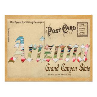 Alte Postkarte Arizona