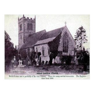 Alte Postkarte - Aston Cantlow, Warwickshire
