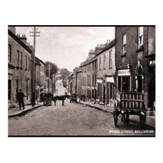 Alte Postkarte - Ballinrobe, Co Mayo, Irland