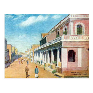 Alte Postkarte - Bangalore (Bengaluru), Indien