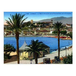 Alte Postkarte - Cannes