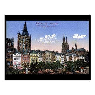 Alte Postkarte - Koln/Köln - Altermarkt
