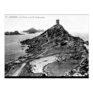 Alte Postkarte - La Parata, Corse