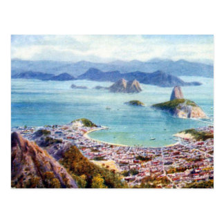 Alte Postkarte - Rio de Janeiro, Brasilien
