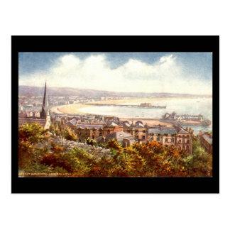 Alte Postkarte, Weston-Super-Stute Postkarte