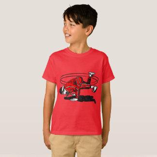 Alte Schulangesagtes Hopfen Breakdancer T-Shirt