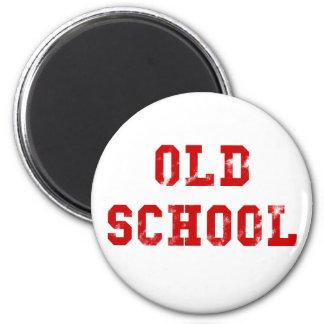 Alte Schule Runder Magnet 5,7 Cm