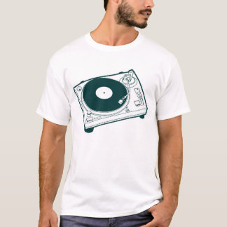Alte Schulwachs/-Turntable T-Shirt