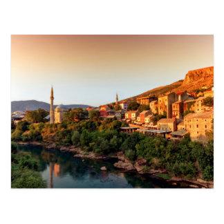 Alte Stadt Mostars, Bosnien und Herzegowina Postkarte