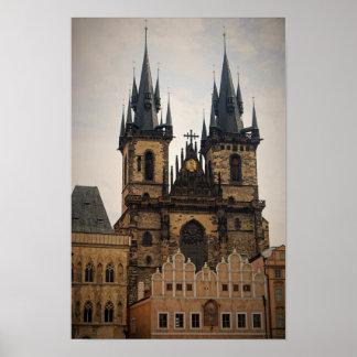Alte Stadt Prag Poster