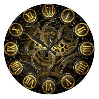 Alte viktorianische Gangart Steampunk Uhr