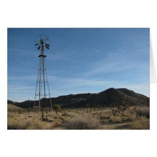 Alte Wüsten-Windmühle Karte