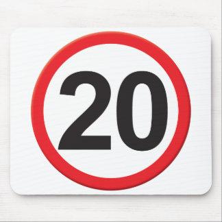 Alter 20 mauspads