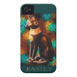 Alter ägyptische Katzen-Gott Bastet II iPhone 4 Etuis