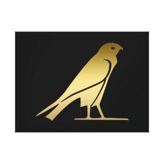 Alter ägyptischer Vogel - Göttin Nekhbet Gespannter Galeriedruck